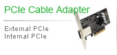 PCIe Cable adapter | External PCIe Internal PCIe
