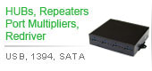 HUBs,Repeater,Port Multiplier | USB, 1394, SATA